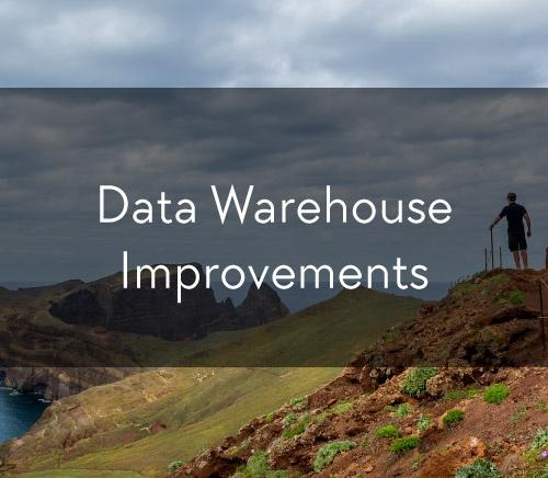Data Warehouse Improvements