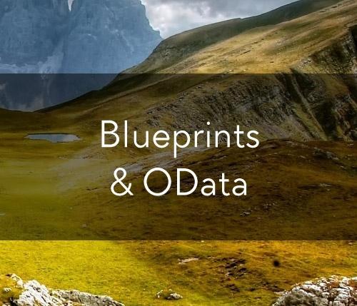 Blueprints & OData