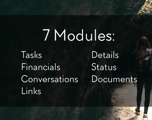 Choose from Seven Modules